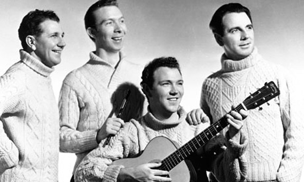 The Clancy Brothers. Photograph: Michael Ochs Archives Michael Ochs Archives/Michael Ochs Archives